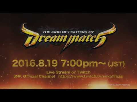 THE KING OF FIGHTERS XIV Dream Match Commences Aug. 19