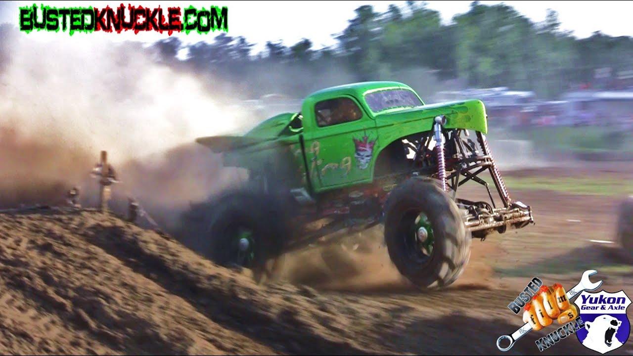 Truck Mud Tires >> KING SLING 3 WHEEL FREESTYLE CRASH! - YouTube