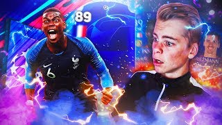 89 RATED FRANSK CL WALKOUT! 🇫🇷😱 CHAMPIONS LEAGUE PACK OPENING PÅ FIFA 19! 🔥🏆