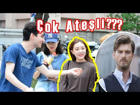 Koreli Kızlara Türk Aktörlerini Sorduk! (ÇOK ATEŞLİ!)