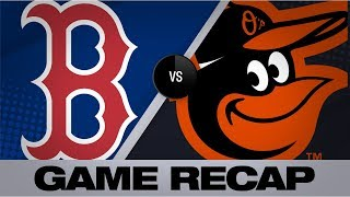 8-run 4th inning leads Red Sox to victory | Red Sox-Orioles Game Highlights 7/20/19