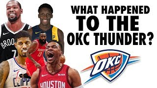 What Happened To The Oklahoma City Thunder?