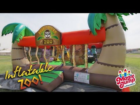 Inflatable Zoo - Inflatable Combo Unit | Magic Jump, Inc.
