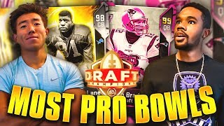 MOST PRO BOWLS DRAFT! INSANE GAME VS DRE DRIZZLE! Madden 19 Draft Champions