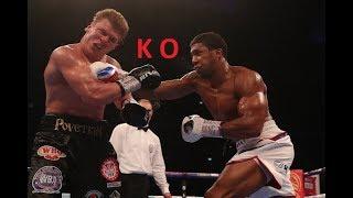 Anthony Joshua Vs Alexander Povetkin Knockout Full Highlights 2018 HD