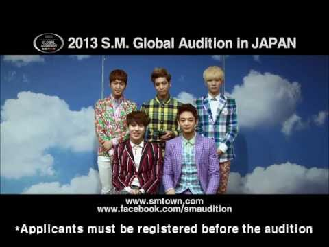 2013 S.M. GLOBAL AUDITION IN JAPAN Promotion Clip_SHINee