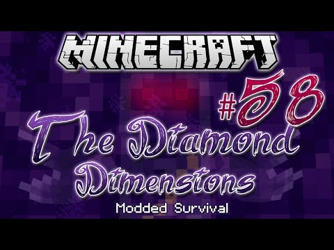 """WITHER CATACOMBS""   Diamond Dimensions Modded Survival #58   Minecraft - Smashpipe Games"