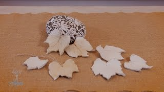 How to Make a Scented Air-Dry Clay Leaf
