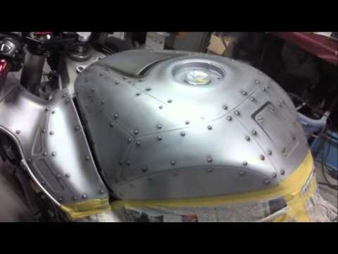 Hayabusa Airbrush Paint Rivet Youtube