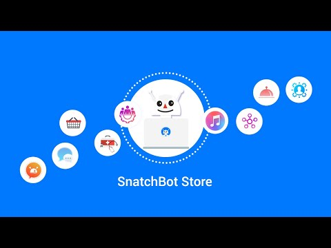 SnatchBot Store is the world's first free bot marketplace and offers turnkey templates for variety of chatbots to be used in areas like customer service, banking, healthcare and many more.