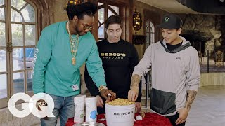 2 Chainz Eats $500 Gold-Coated Popcorn | Most Expensivest Sh*t | GQ