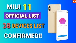 Miui 11 Global Stable Update release date in India Confirmed | Miui 11 Supported devices list