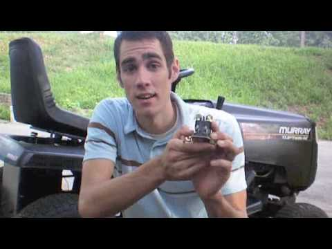 how to test a lawn mower solenoid youtube. Black Bedroom Furniture Sets. Home Design Ideas