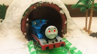 Thomas and Friends Ghost Train and Disney Cars Toys Lightning Mcqueen