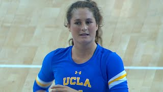 Recap: UCLA women's volleyball sweeps California