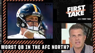 Alan Hahn explains why Ben Roethlisberger is the worst QB in the AFC North   First Take
