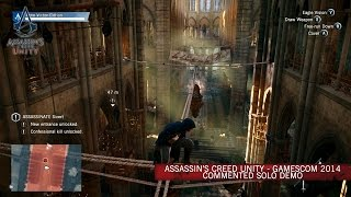Assassin's Creed Unity - Commented Solo Demo