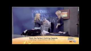 Carrie LaShell CW San Diego--Packing the Perfect Clothing Capsule
