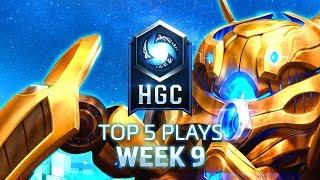 HGC 2018 - Top 5 Plays - Phase 1 Week 9