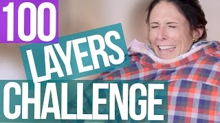 100 Layers of Clothes SUCCESS  (Beauty Break)
