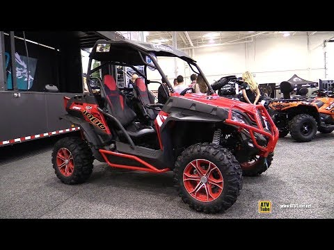 2018 Cfmoto Z-Force 1000 Side by Side ATV - Walkaround - 2017 Toronto Snowmobile ATV Show