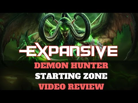 World of Warcraft: Legion - Demon Hunter Starting Zone Gameplay - EXP Overview