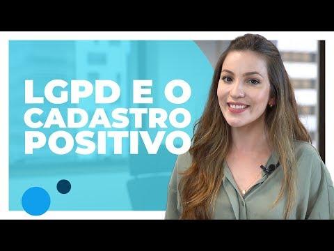 Imagem LGPD e o Cadastro Positivo