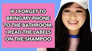 Things People Do In The Bathroom