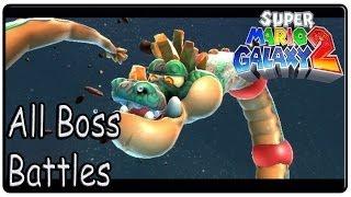 Super Mario Galaxy 2 All Bosses (Full HD)