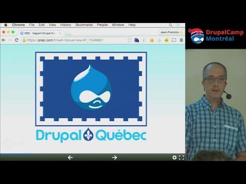 VDD comme environnement de développement Drupal