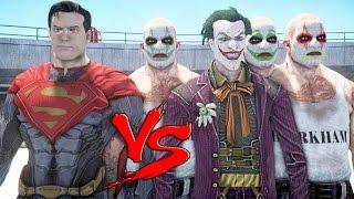Superman Vs The Joker - Epic Battle