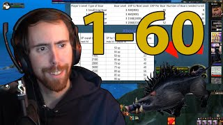 Asmongold Reacts to Can you level 1-60 Killing Only Boars?