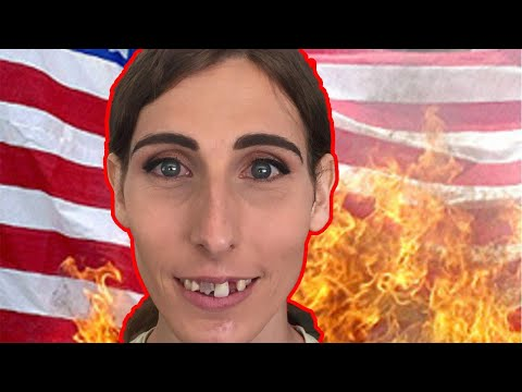 US Olympic Transgender Athlete Chelsea Wolfe wants to BURN US Flag on the podium at Tokyo Olympics!