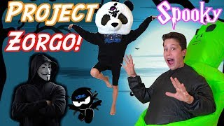 SPOOKY Fun! Project Zorgo DOOMSDAY Ninja Kidz TV