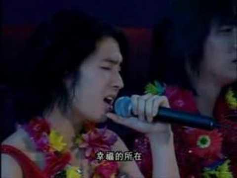 F4 Meteor Rain 流星雨 (Liu Xing Yu)  Live performance