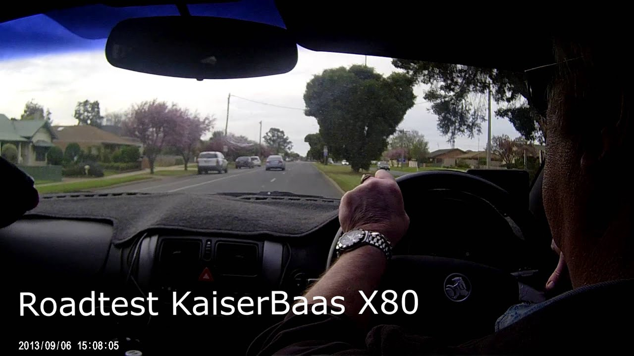Roadtest KaiserBaas X80 Action Camera