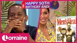 Andi Peters Celebrates His 50th Birthday Lorraine Style! | Lorraine