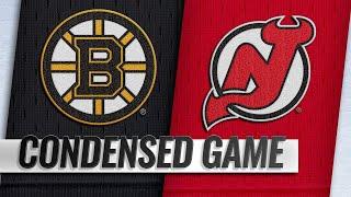 03/21/19 Condensed Game: Bruins @ Devils