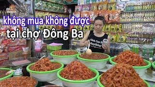 Có nên mua quà ở chợ Đông Ba khi đi du lịch Huế #hnp