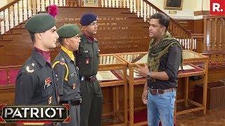 Major Gaurav Arya With Param Vir Chakra Awardee   Patriot