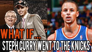 What If Stephen Curry Was Drafted By The Knicks?