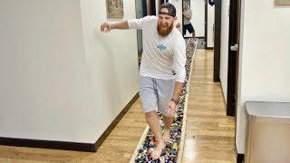 World's Longest LEGO Walk | Dude Perfect
