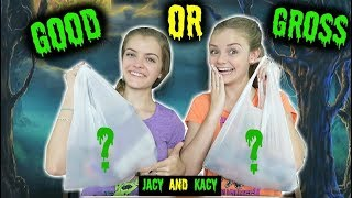 Trying Dollar Store Halloween Candy ~ Jacy and Kacy