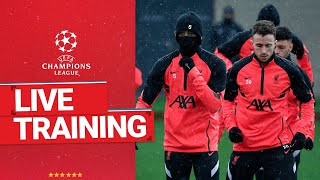 Champions League Training: Liverpool prepare for Real Madrid