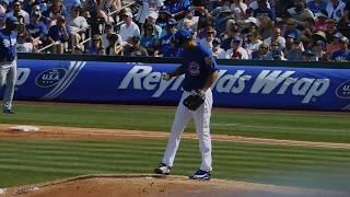 Yu Darvish's Cubs Spring Debut