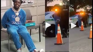 Kodak Black arrested before going on Stage at Rolling Loud for FEDERAL Gun Charges!