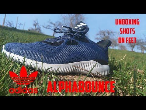 Adidas Alphabounce EM mystery feet Blau Unboxing, shots, on feet mystery Tải 7e3215