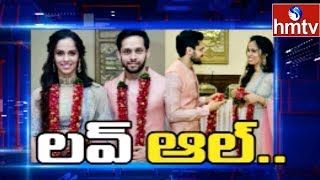 Saina Nehwal and her husband Parupalli Kashyap- Interview..