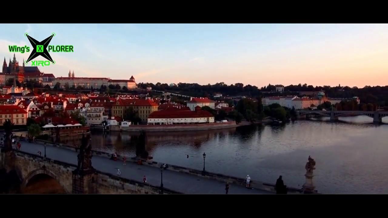 Xiro 4K drone frist fly on Prague Czech
