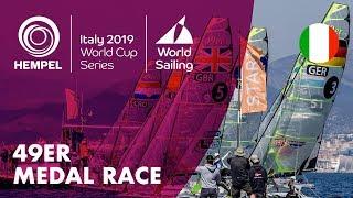 49er Medal Race | Hempel World Cup Series Genoa 2019